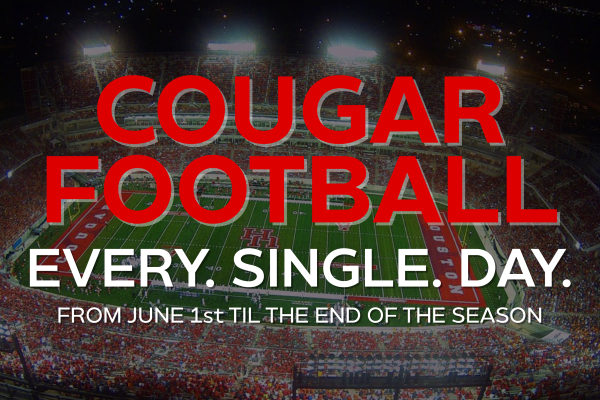 GoCoogs has a new UH football article every single day