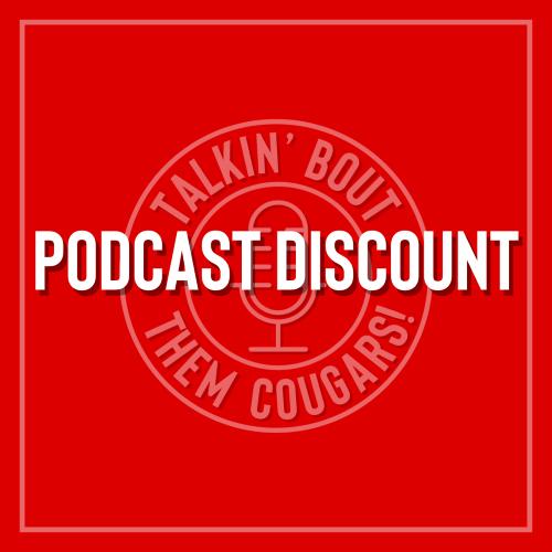 GoCoogs podcast discount